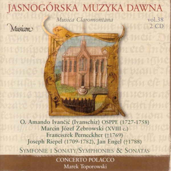 Musica Claromontana, vol. 38-1,2 Instrumental Music from Jasna Góra